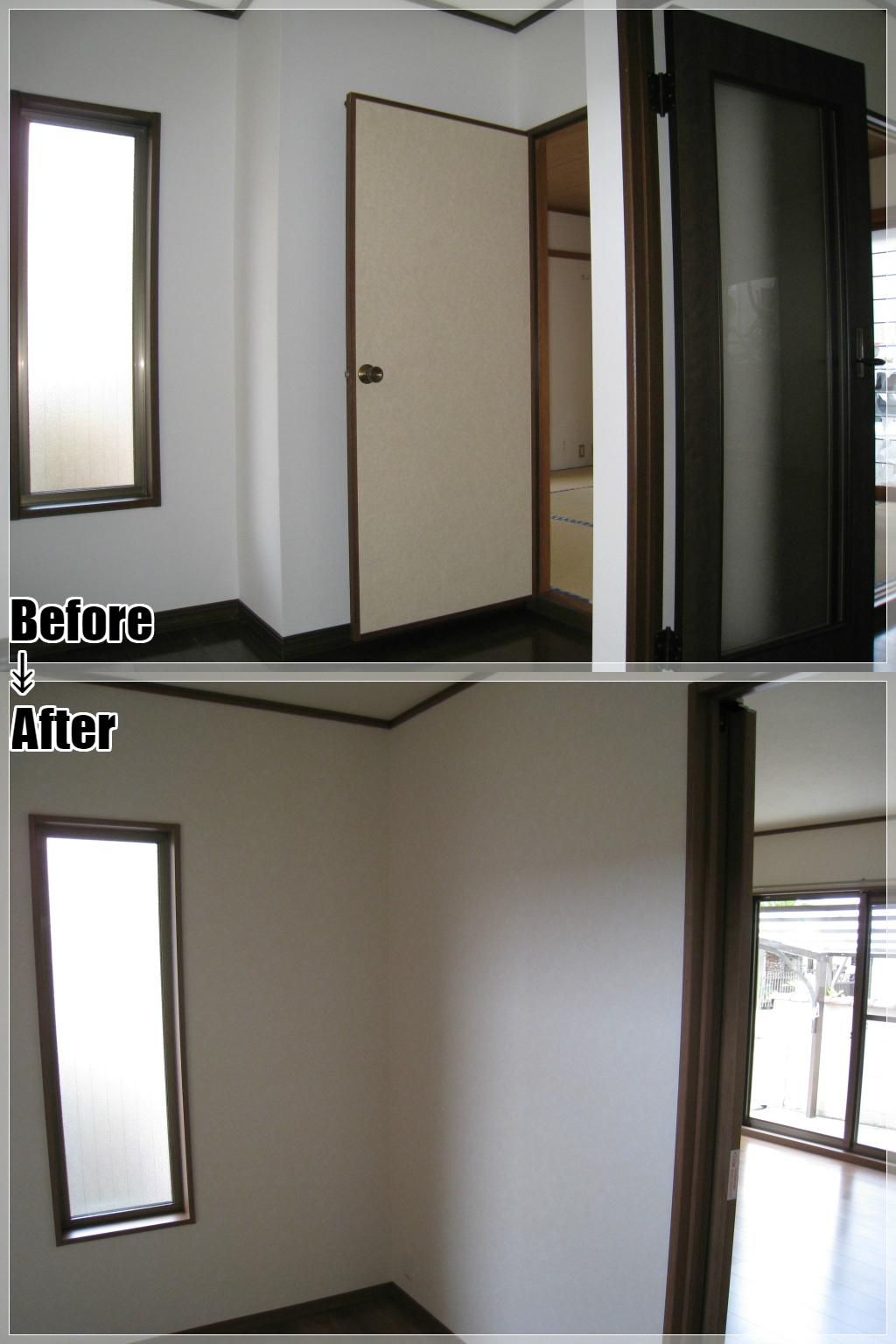 戸建てリフォームの施工事例 Case.05 玄関・ホール