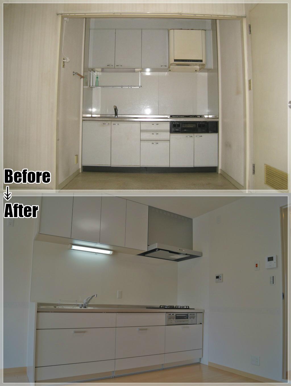 マンションリフォームの施工事例 Case.08 システムキッチン