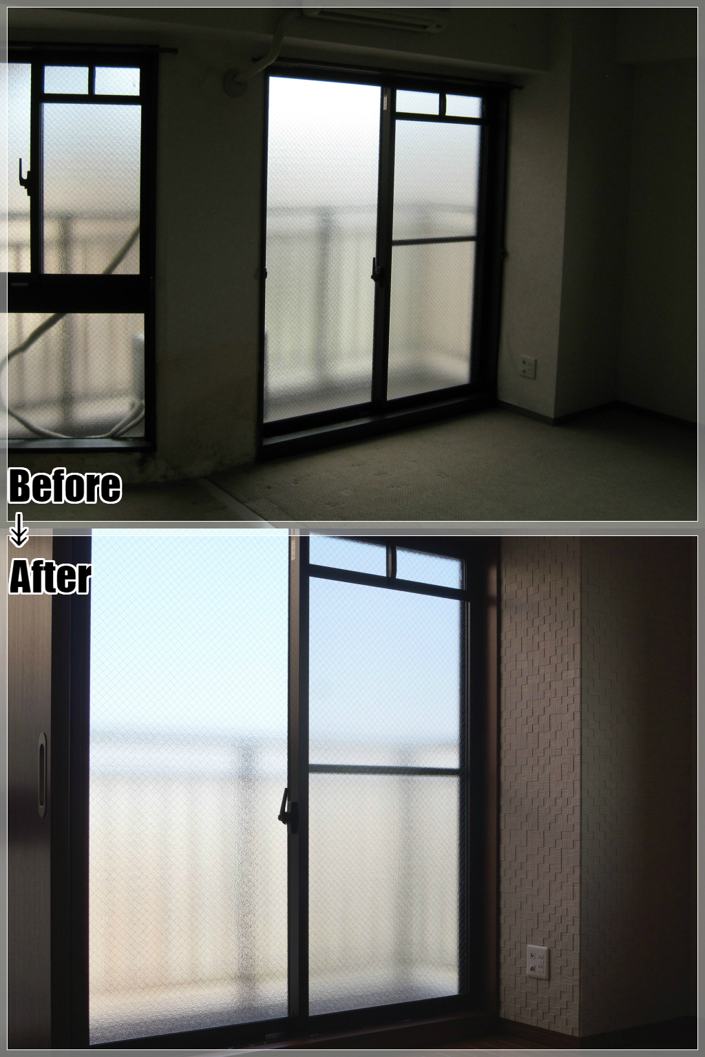マンションリフォームの施工事例 Case.10 洋室・エコカラット