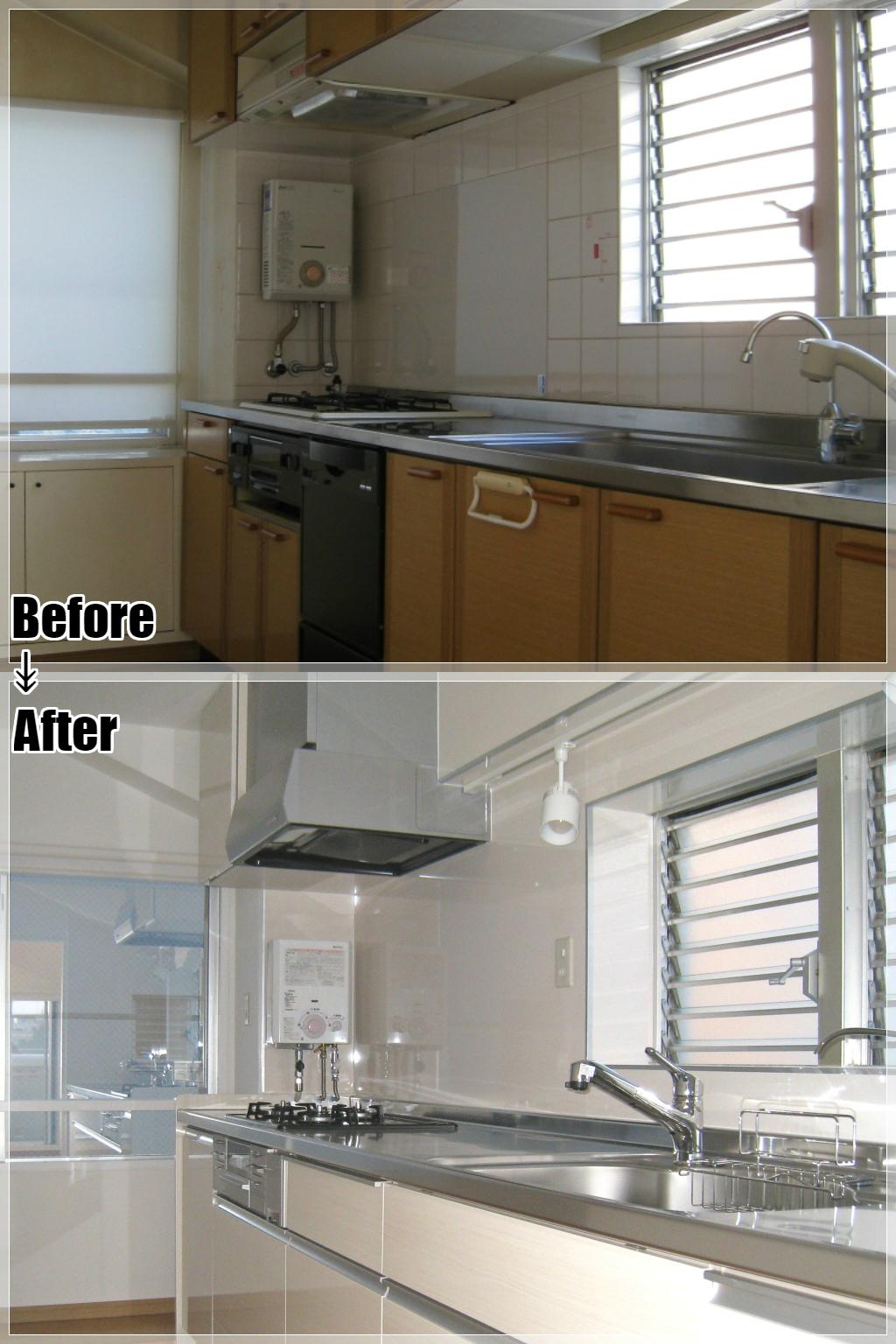 マンションリフォームの施工事例 Case.11 キッチン
