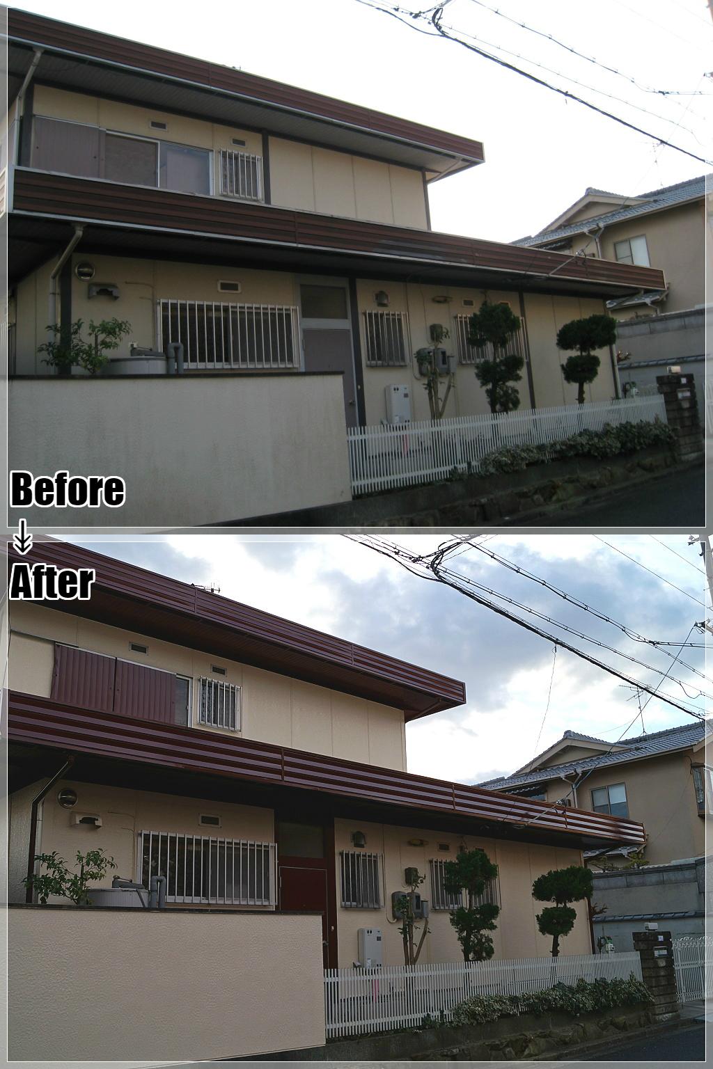 戸建てリフォームの施工事例 Case.18 外壁塗装・外構塗装