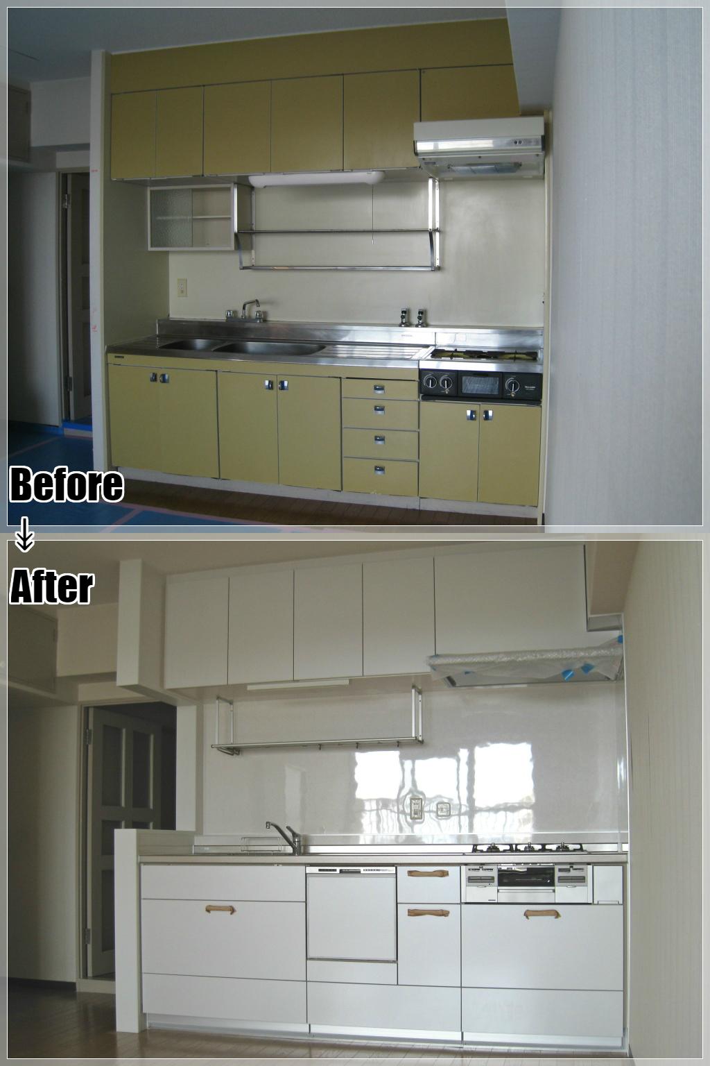 マンションリフォームの施工事例 Case.22 キッチンリフォーム