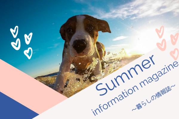 住まい専門のリフォーム会社がお届けする夏に向けた暮らしの情報誌
