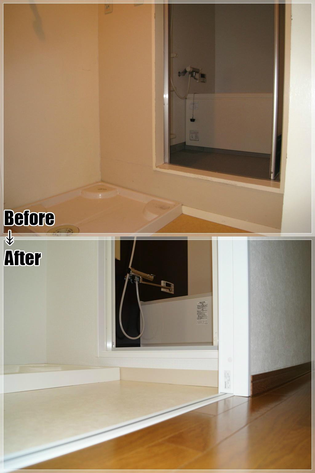 マンションリフォームの施工事例 Case.27 洗面室・ユニットバス